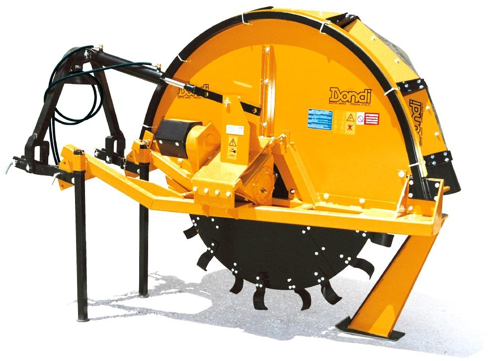 Special single wheel drainage trencher - Quivogne