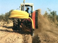 Special single wheel drainage trencher